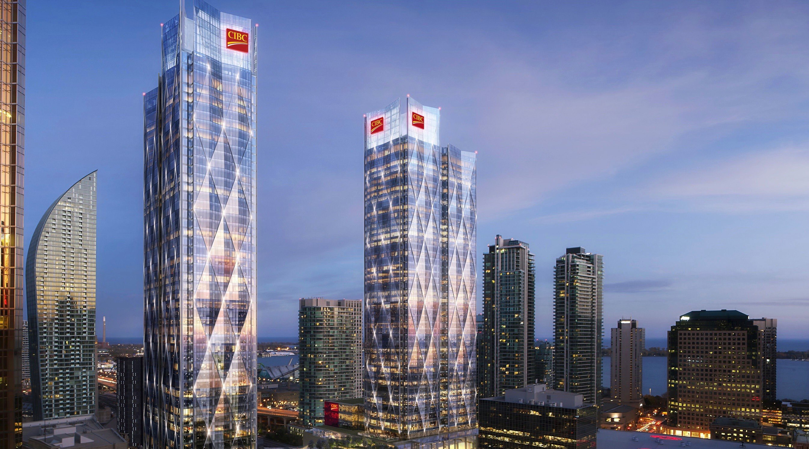 35 tallest buildings in Canada under construction right now
