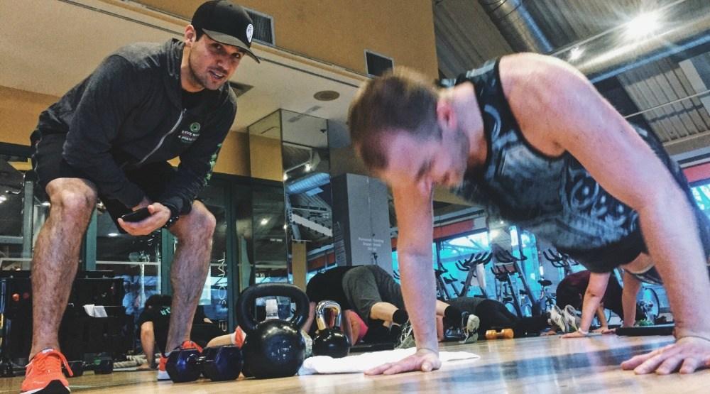 Workoutsteve nash fitness world