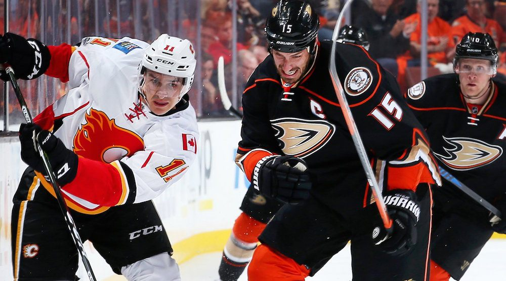 Penalties, bad line change costs Flames in Game 1