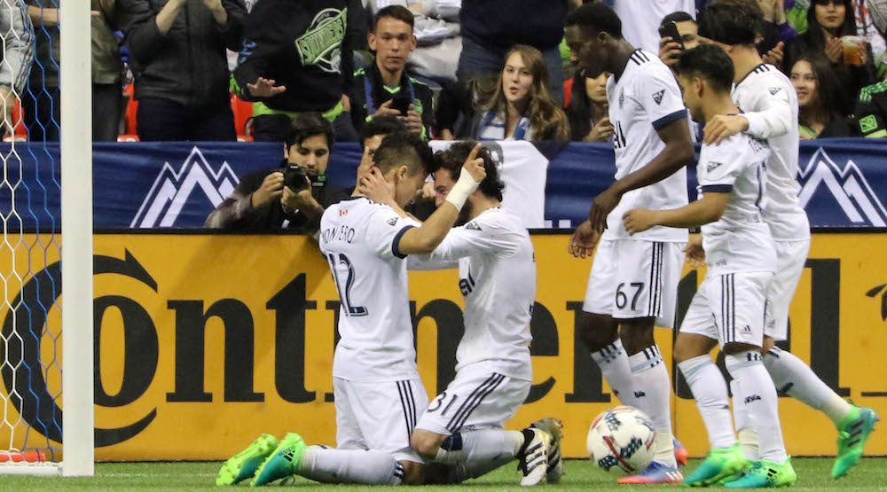 Montero scores twice in crucial victory for Whitecaps over Sounders