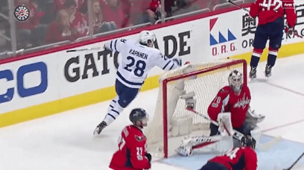Watch: Kapanen wins Game 2 for Leafs in double OT