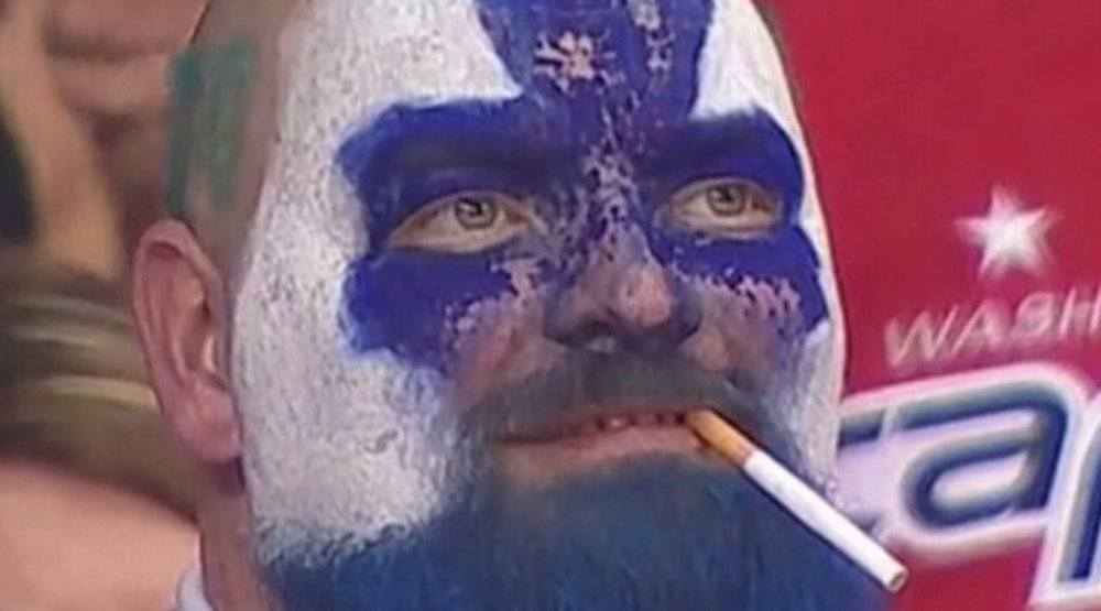 Leafs dart guy