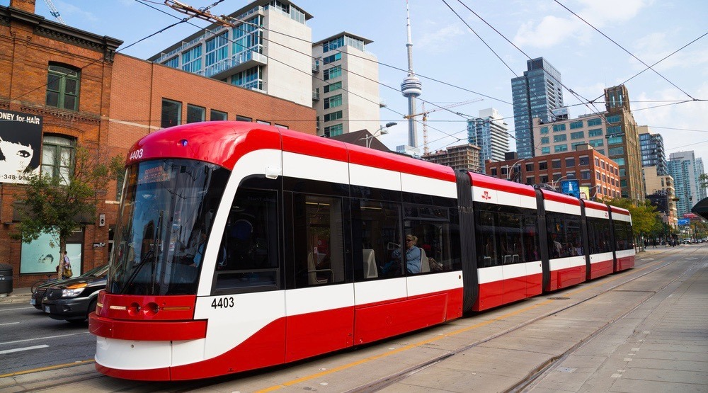 The TTC celebrated its 31 billionth ride this morning