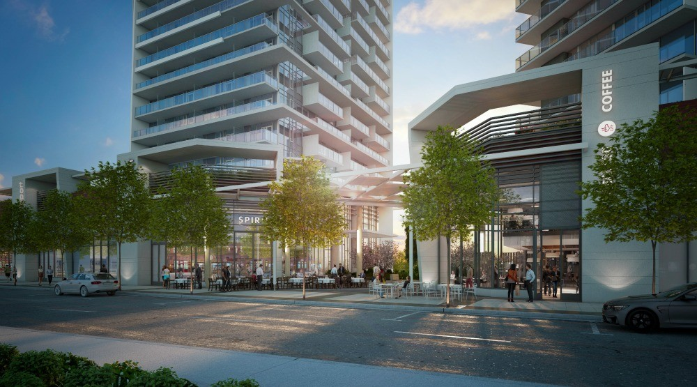 Live in Coquitlam's tallest tower boasting 20,000 sq. ft. of amenities