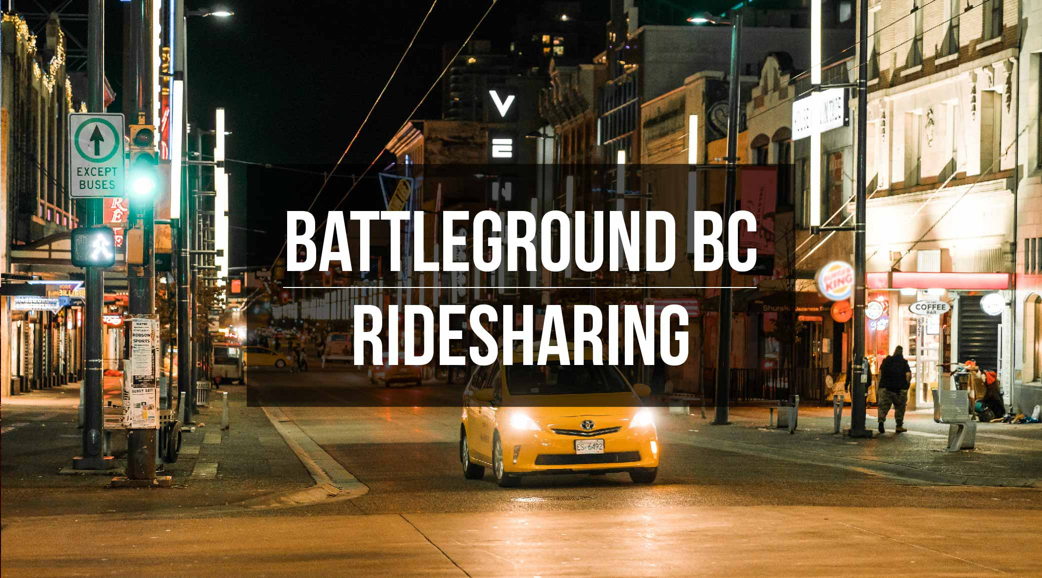 BC Election 2017: Your quick guide to rideshare