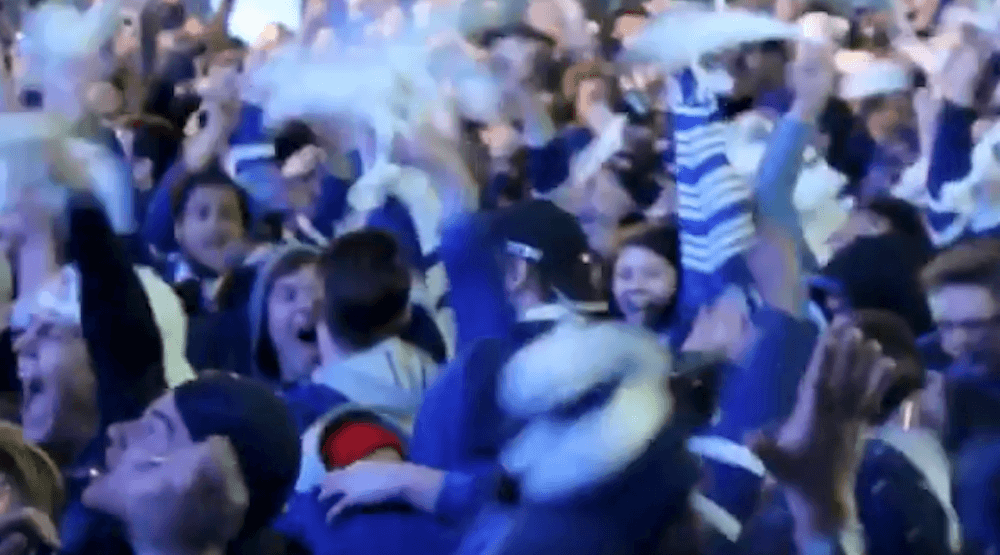 6 videos of people losing their damn minds in Maple Leaf Square