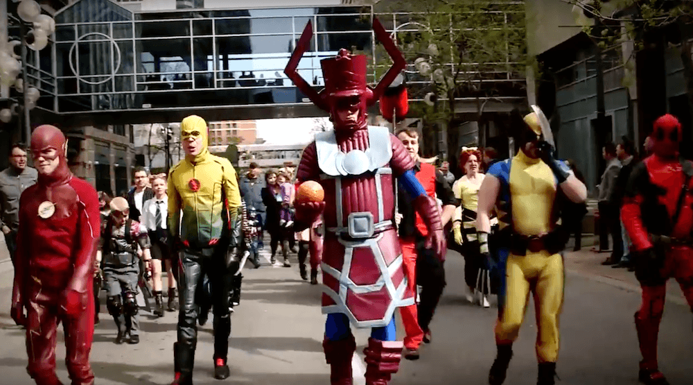 2016 parade of wonders the calgary comic entertainment expo