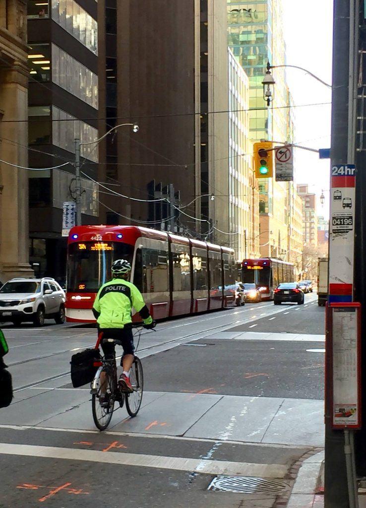 polite police bikes cyclist