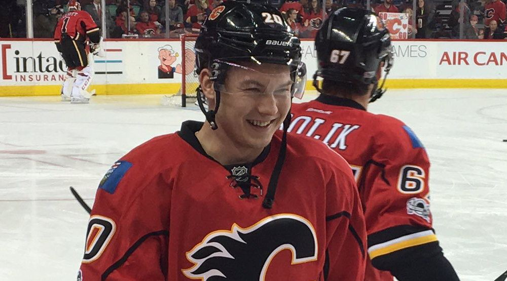 Flames to bench Stajan, Bouma in tonight's do-or-die game