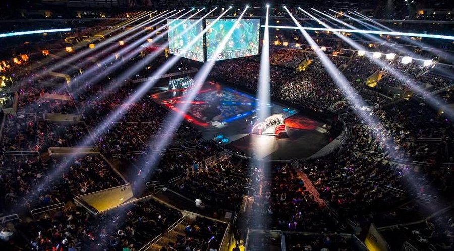 The 2017 North America 'League of Legends' spring finals Vancouver