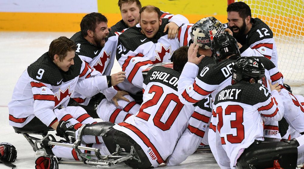Canada sledge hockey