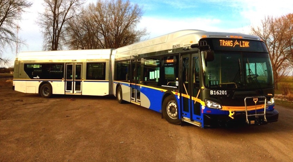 26 new hybrid articulated buses added to TransLink fleet