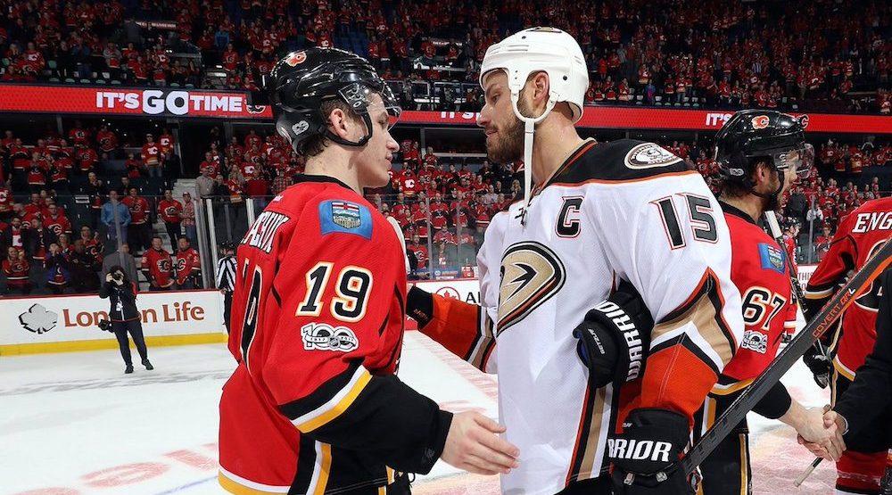 Flames ducks handshakes e1492797932329