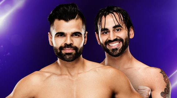 Burnaby's Bollywood Boyz lay the smack down at WWE