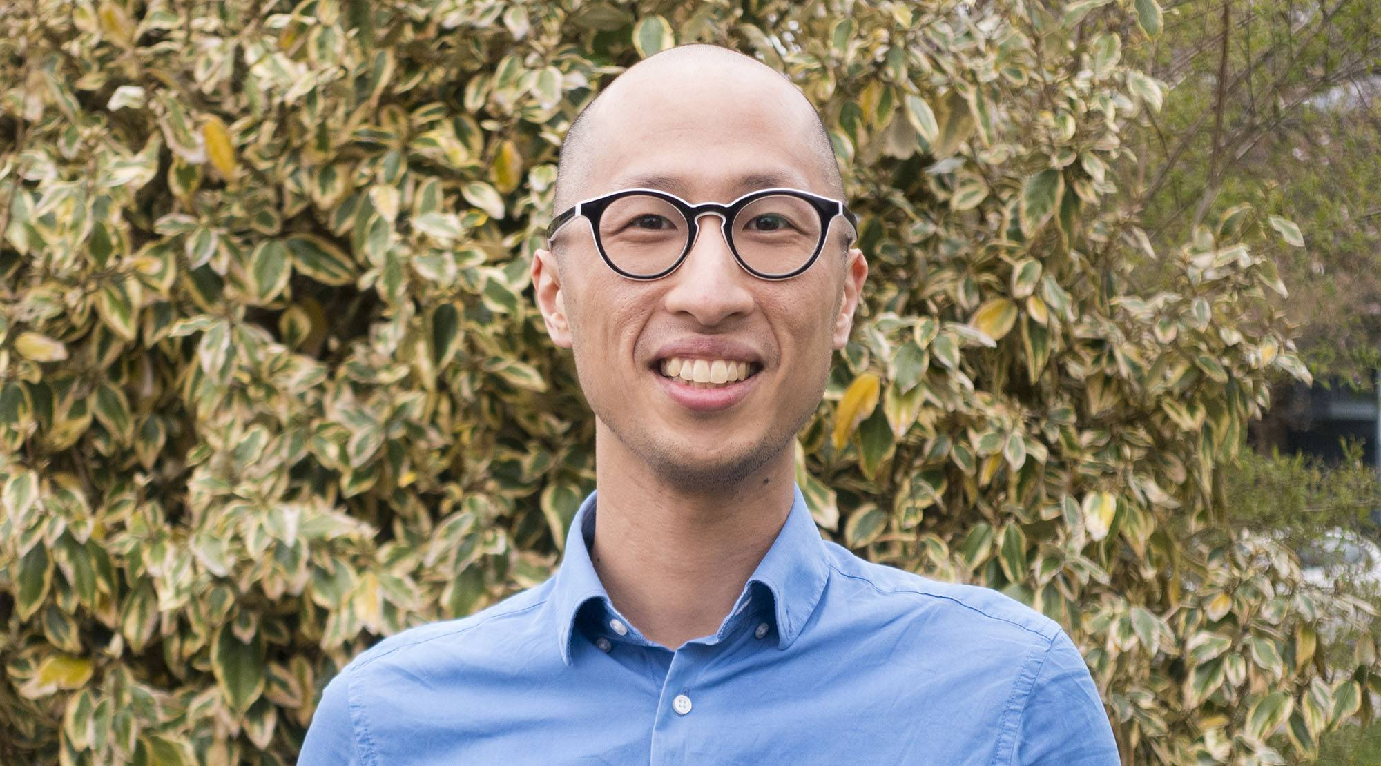 Young voter Ryan Cho (Ryan Cho)