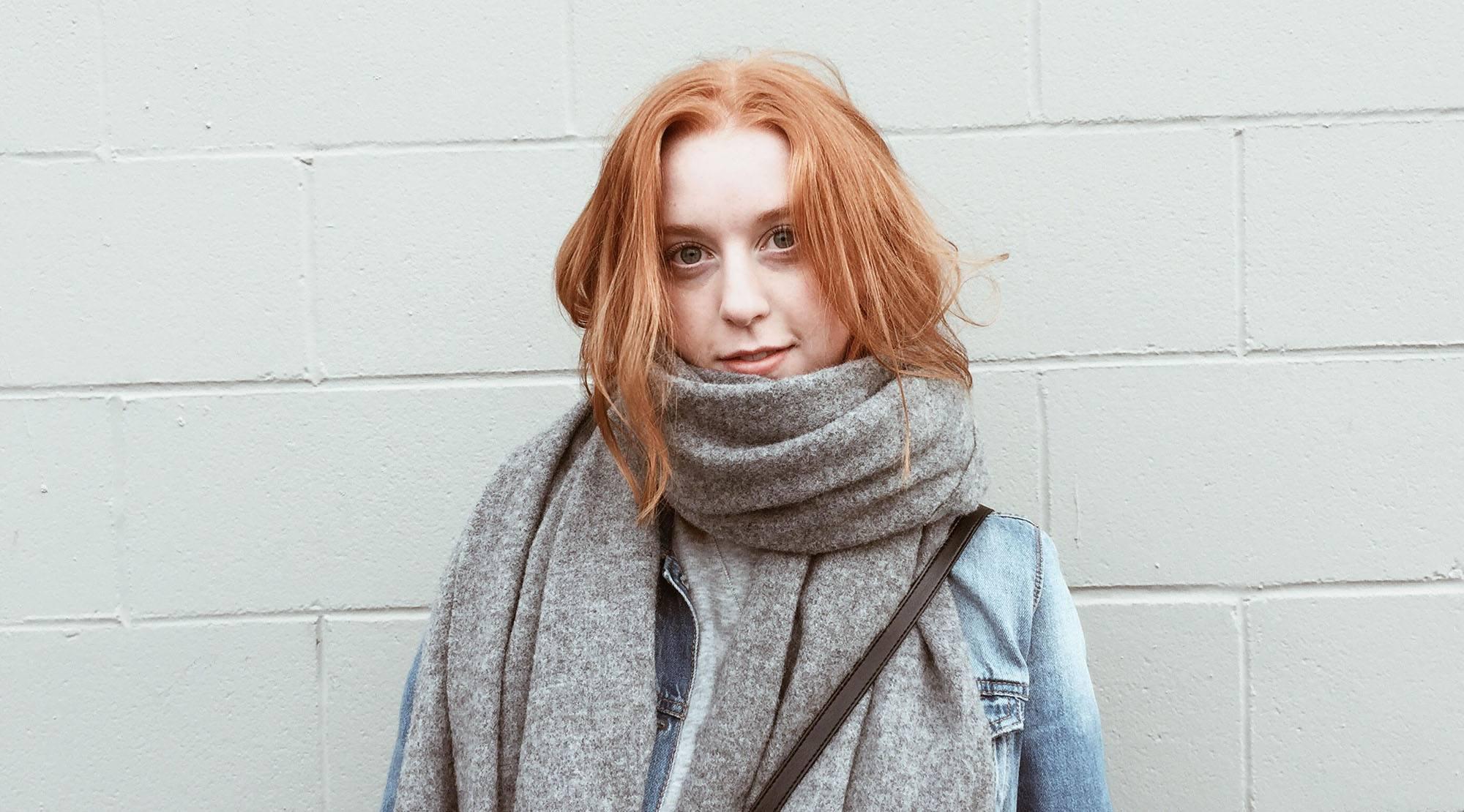 Young voter Nicole Douglas (Nicole Douglas)