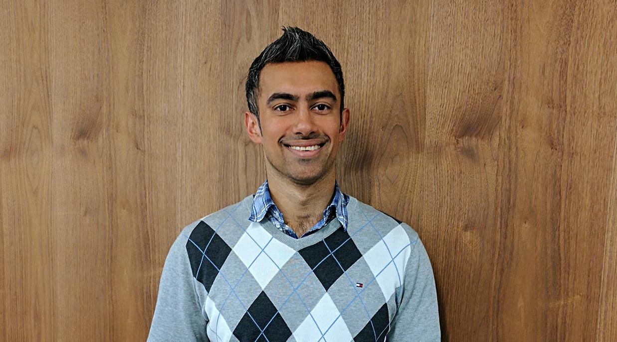 Young voter Ashneel Singh (Ashneel Singh)