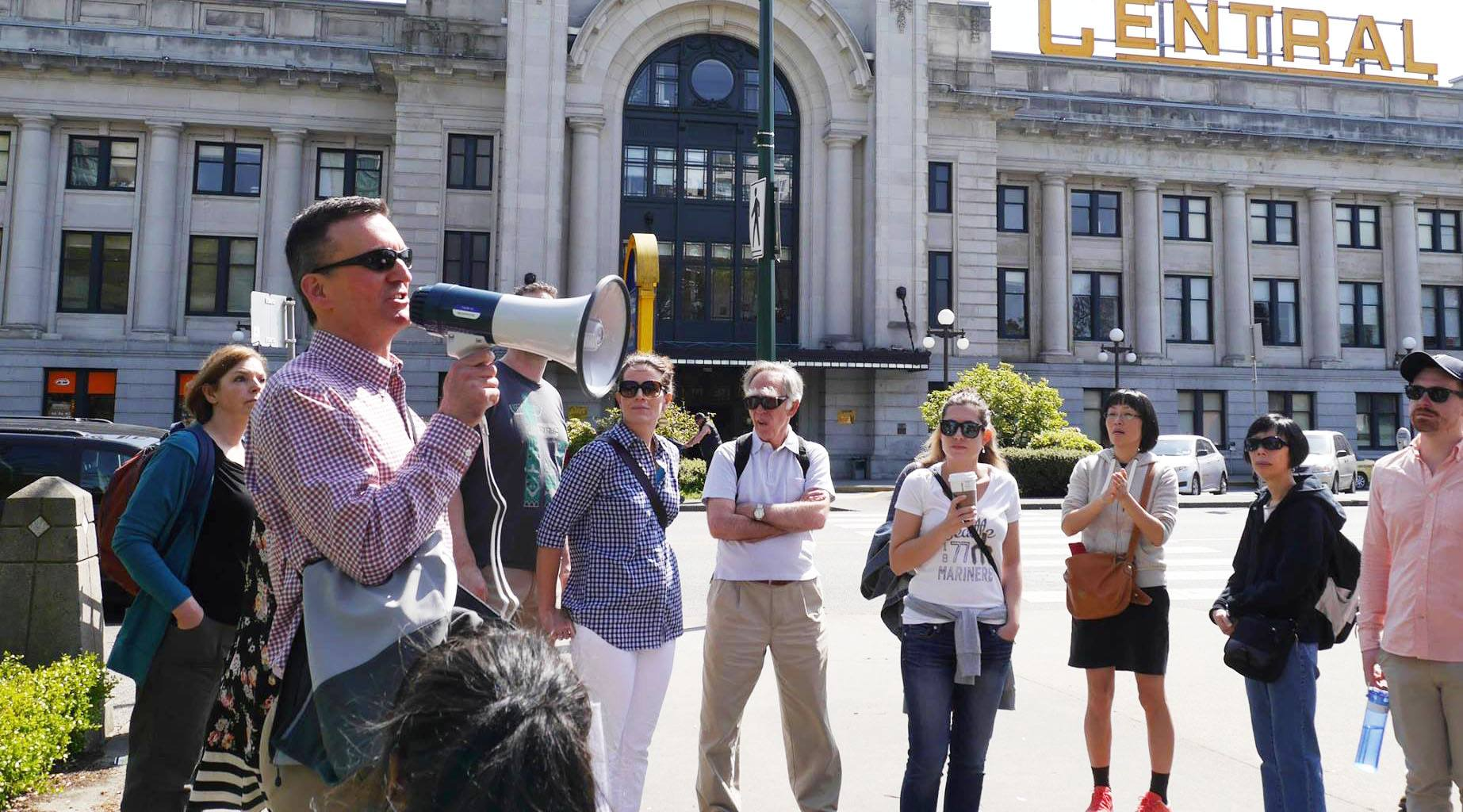 Jane's Walk in Vancouver brings celebrations and debates to the streets