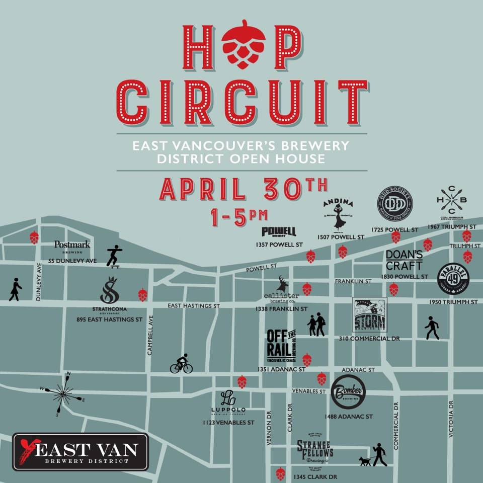 Hop Circuit Vancouver Beer
