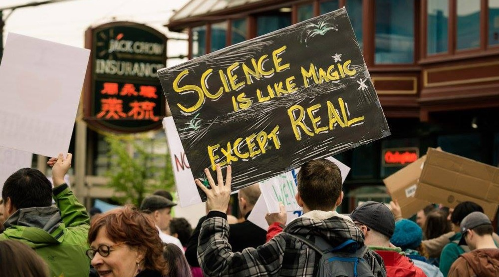 March for science vancouver