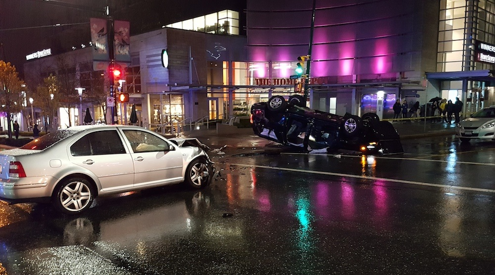 West 8th avenue cambie street crash 1