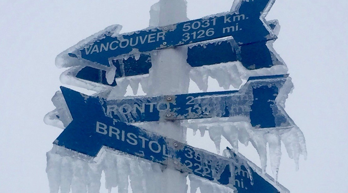 Canadian provincial capital hit with record-breaking 60-hours of freezing rain (PHOTOS)