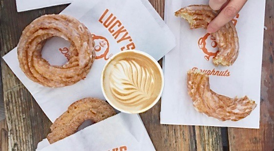 Lucky's Doughnuts/49th Parallel cafe is opening in Downtown Vancouver