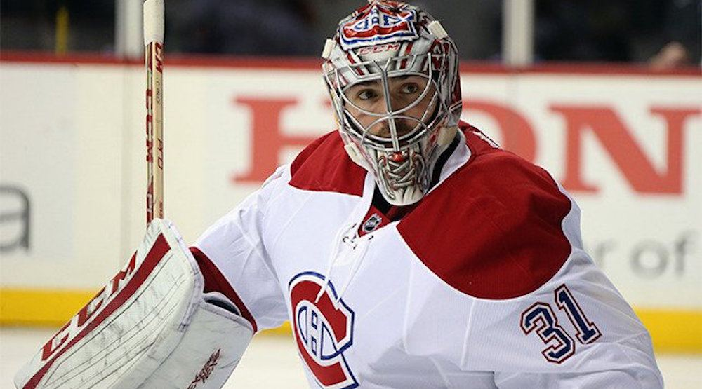 Canadiens' Carey Price nominated as Vezina Trophy finalist