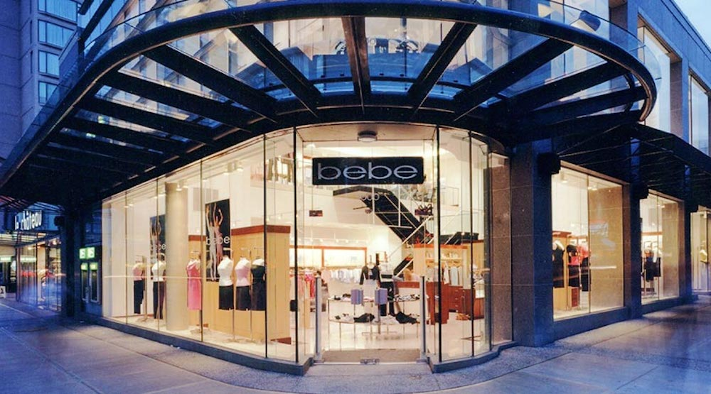 Bebe to close all 168 stores by end of May