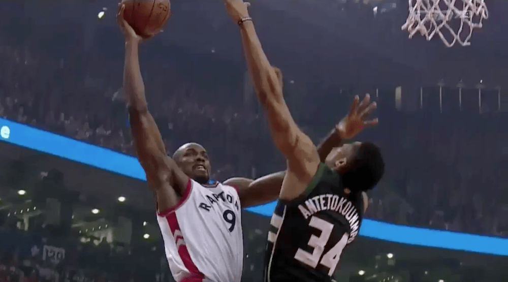 Raptors blow out Bucks in Game 5