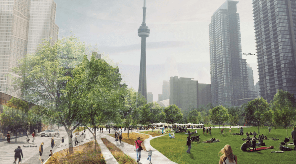 The City wants your thoughts on its plan for massive new downtown park