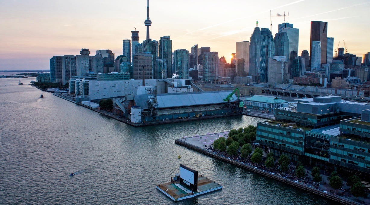 Toronto's famous Sail-In Cinema confirms its coming back this summer