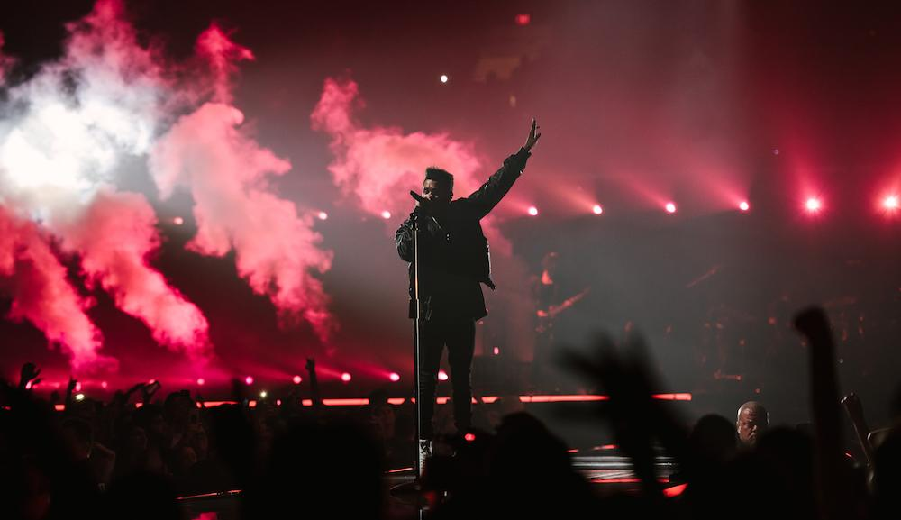 The Weeknd 2017 Edmonton concert at Rogers Place