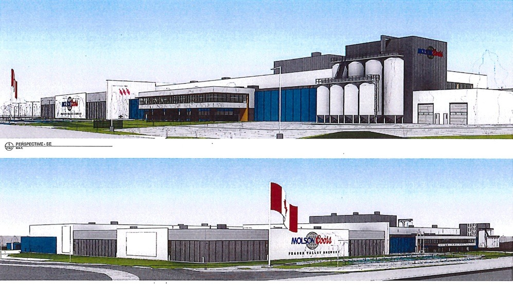 Construction begins on Molson Coors' new $200-million brewery in Chilliwack