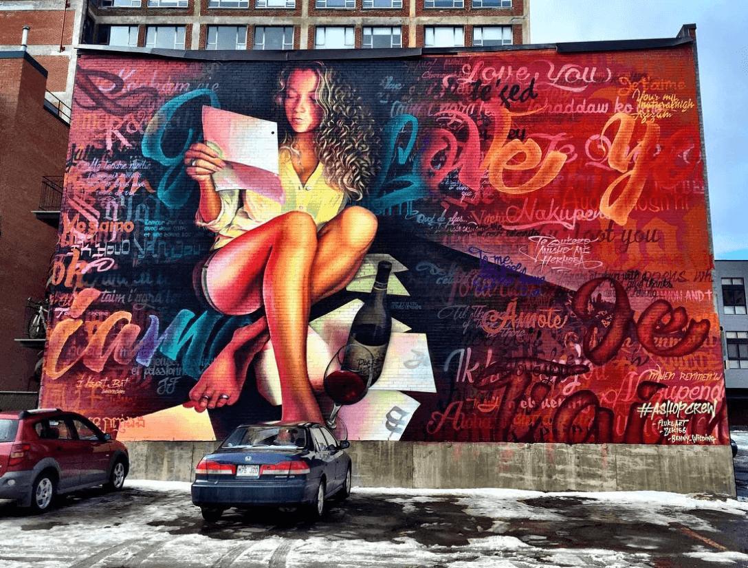 The full program for Montreal's Mural Festival has been released