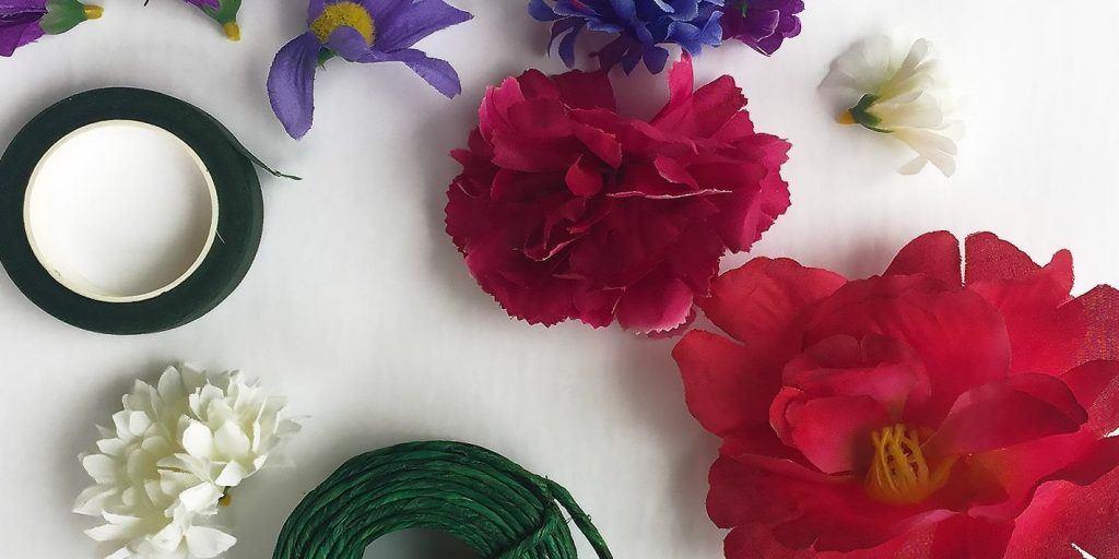Maker YYC Flower Crown Workshop