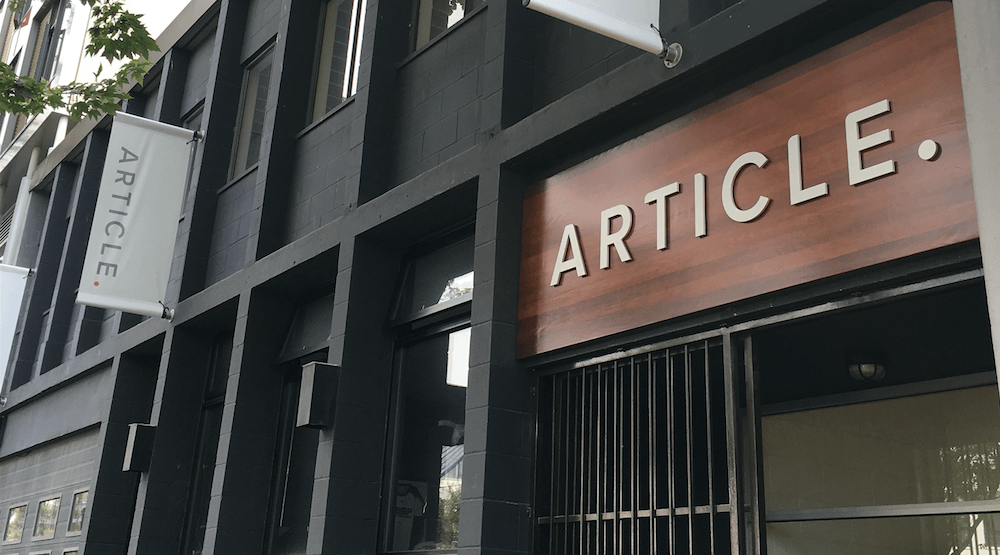 Vancouver-based Article relocates to massive new Strathcona headquarters