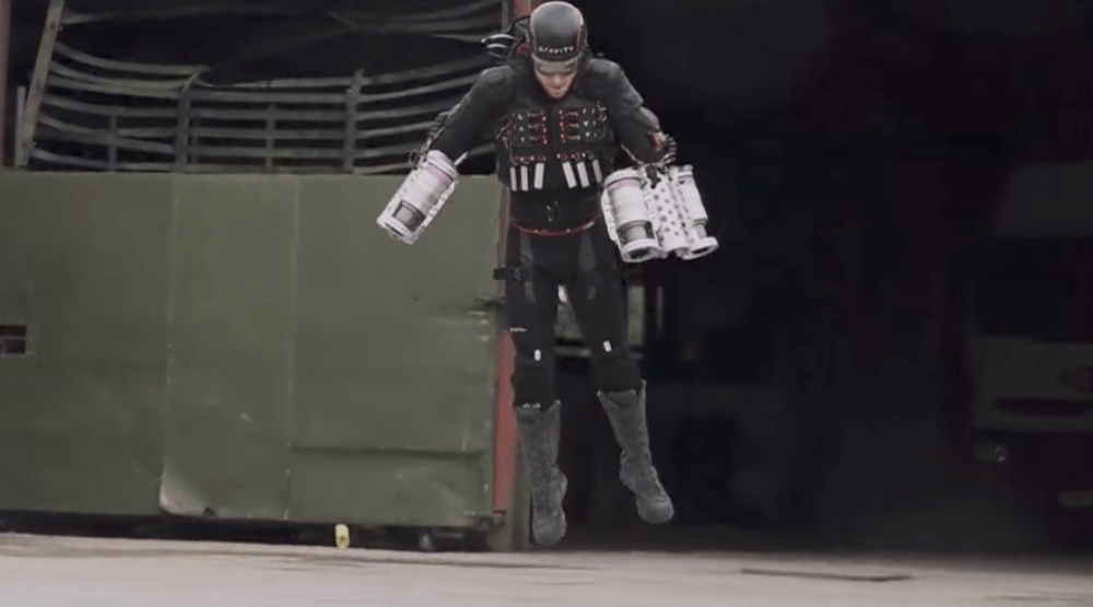 Real-life rocket man brings 'Iron Man' flight suit to TED Vancouver (VIDEO)