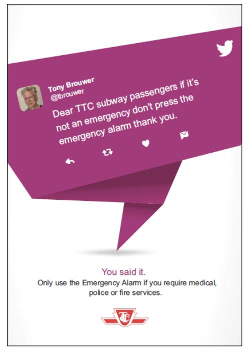 TTC etiquette