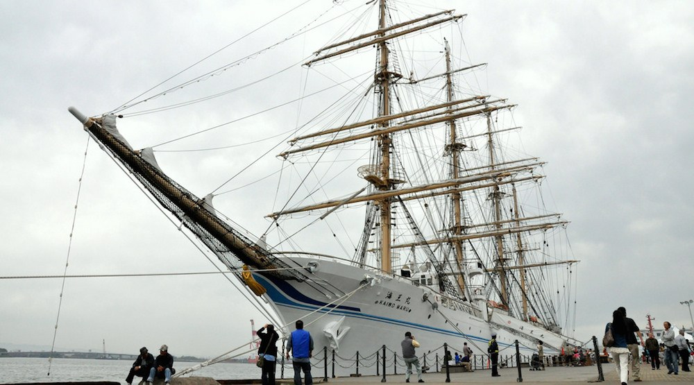 Massive Japanese tall ship coming to Richmond for Ship to Shore King of the Sea festival