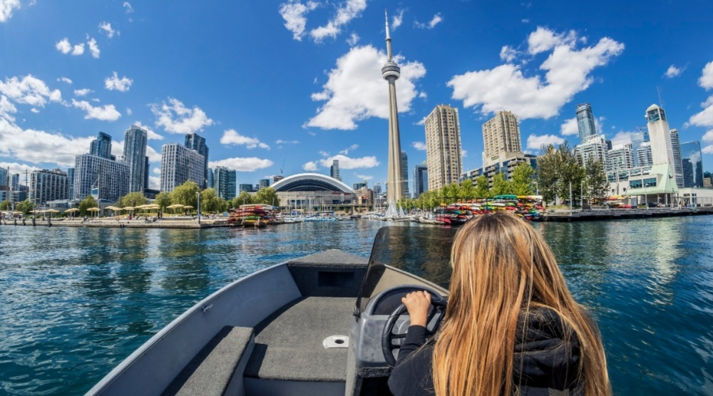 Harbourfront centre boating