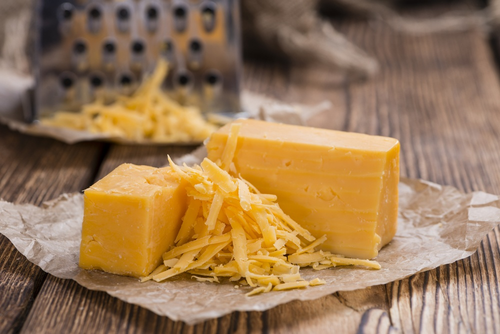 cheddar cheese (HandmadePictures/Shutterstock)