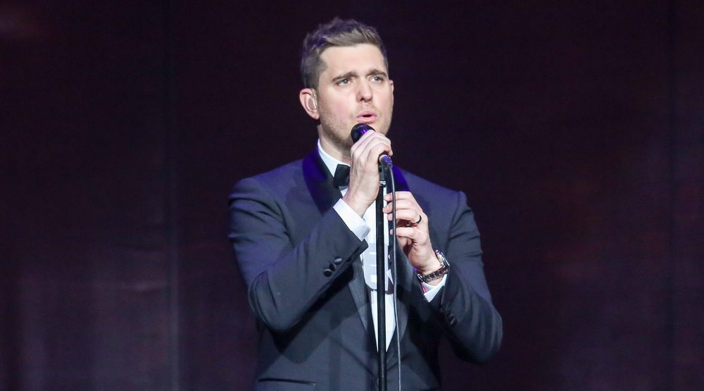 Michael Bublé performs as part of his 2013-2014 world tour.