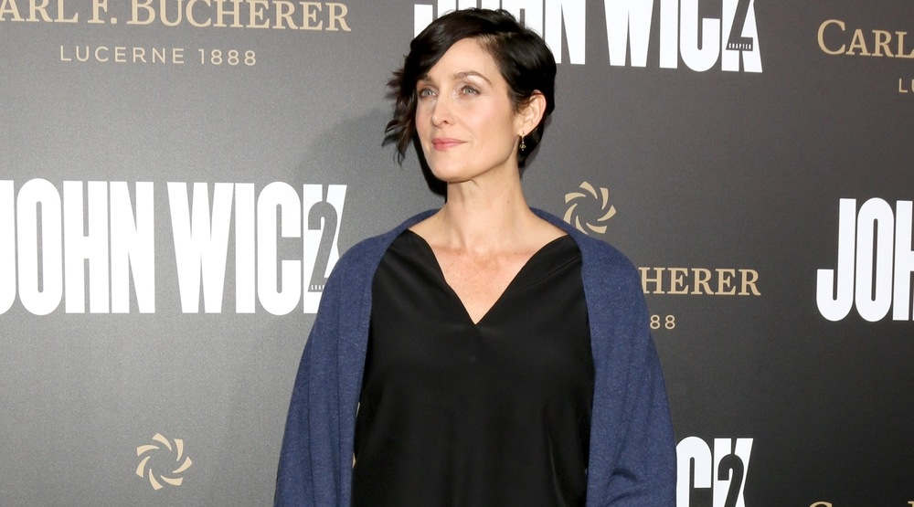 """Carrie-Anne Moss at the """"John Wick: Chapter 2"""" Premiere at ArcLight Theater on January 30, 2017 in Los Angeles, CA"""