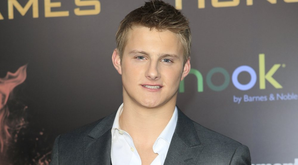 Alexander Ludwig at the premiere of Lionsgate's 'The Hunger Games' at Nokia Theater L.A. Live on March 12, 2012 in Los Angeles, California