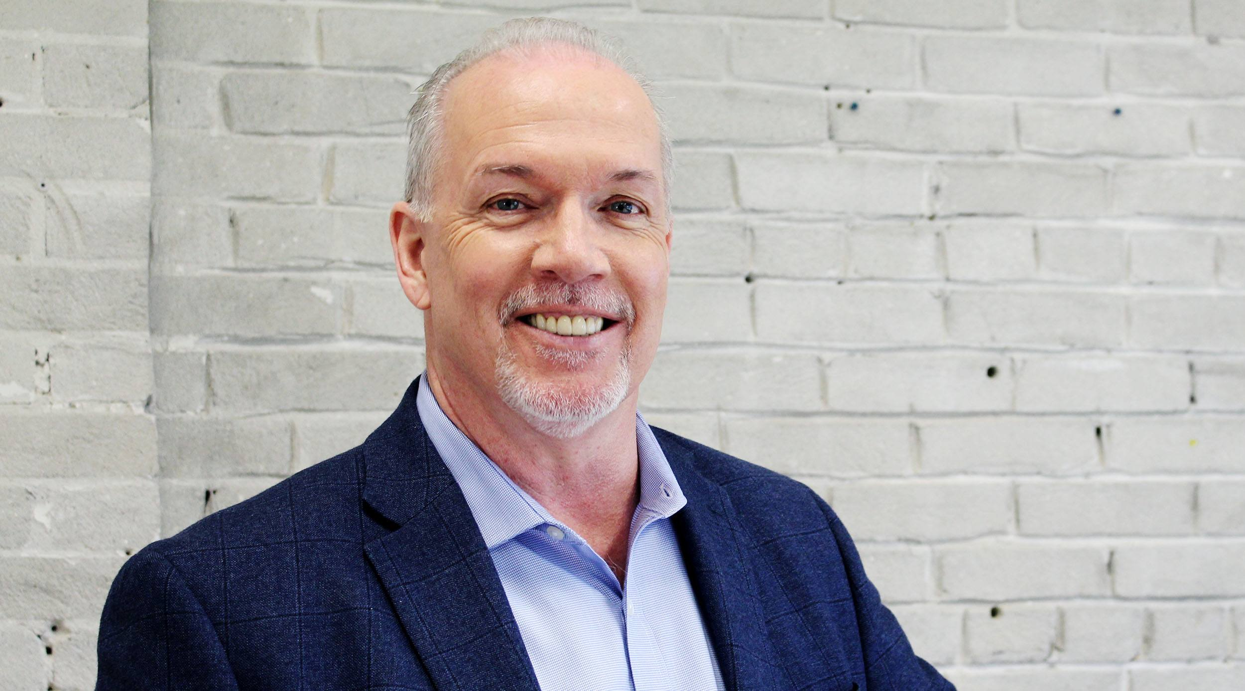 BC NDP leader John Horgan: I believe that people want change
