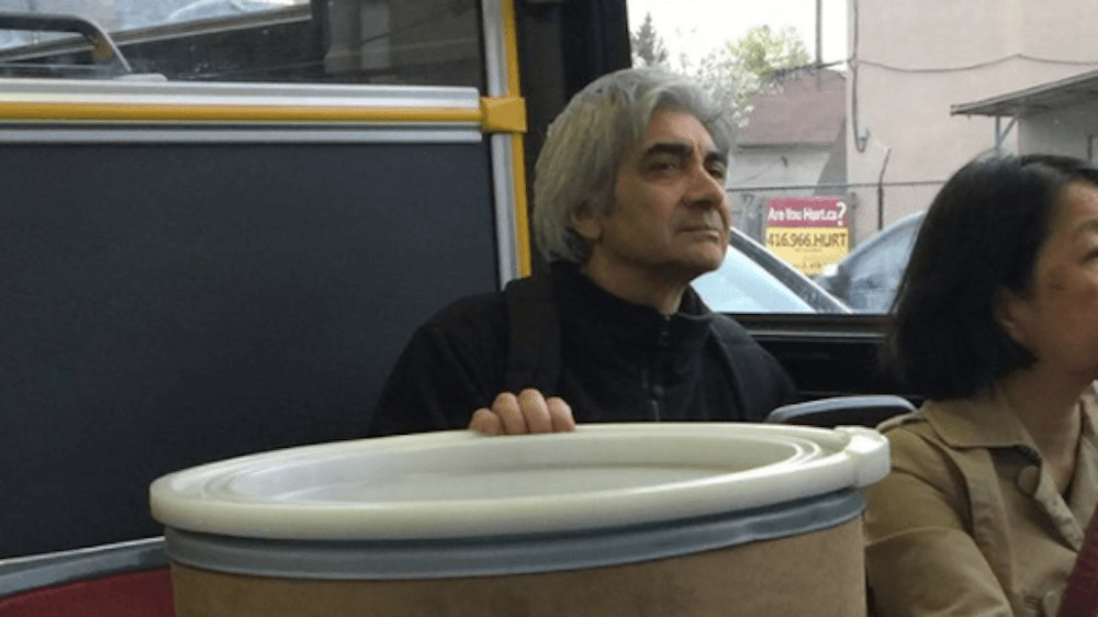 Toronto man carries 30-gallon barrel of Cinnabon frosting on the bus, Twitter loses its mind