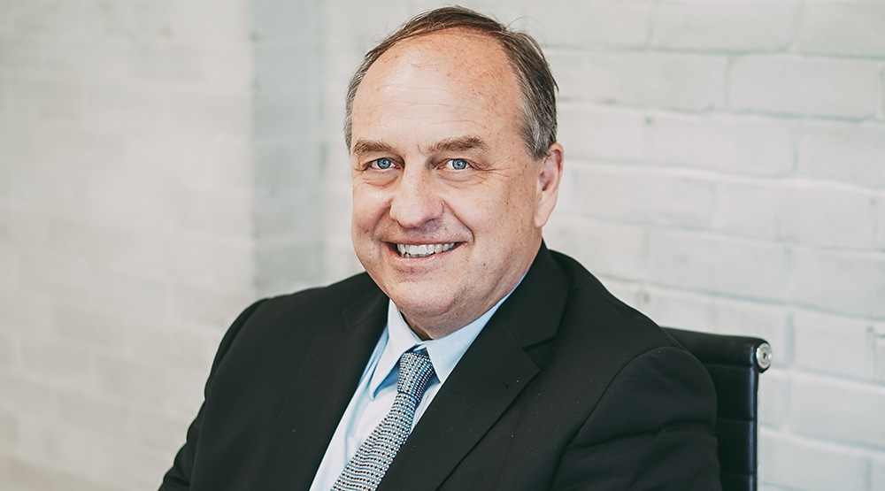 BC Greens leader Andrew Weaver at Daily Hive (Caley Dimmock/Daily Hive)