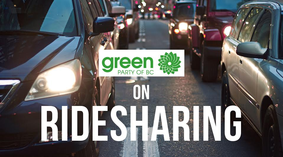 BC Election 2017: BC Greens and rideshare in detail