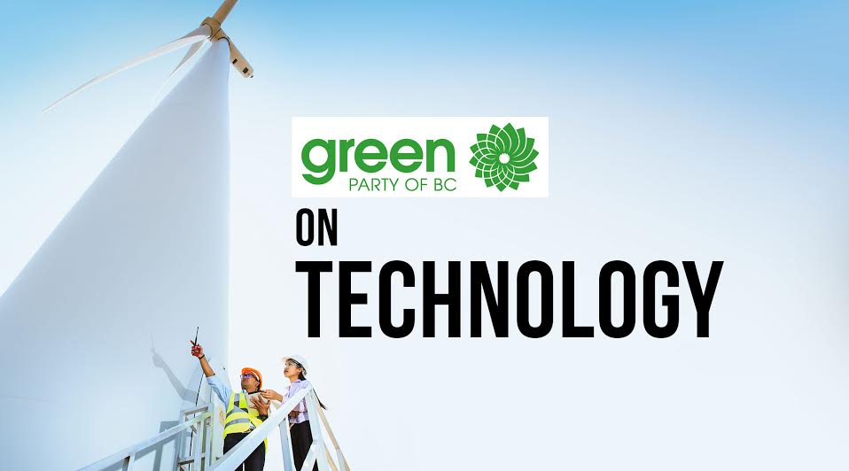 BC Election 2017: BC Greens and technology in detail